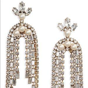 Stella & Dot - Crystal Waterfall Earrings